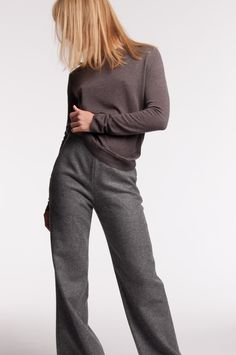 Mette Møller designs simple, feminine clothes for the practical and beautiful woman of today. Simple Designs, Tweed, Beautiful Women, Feminine, Style Inspiration, Couture, Winter, Pants, Closet