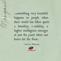 Something very beautiful happens when we fall apart - I Love My LSI