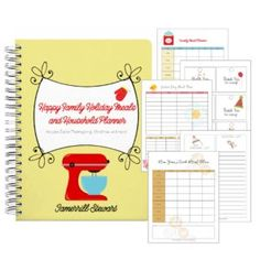 FREE Happy Family Holiday Meals and Household Planner!