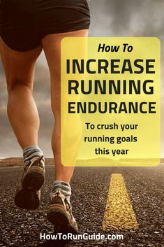 How to Increase Running Endurance. Get faster, stronger and run longer with these running tips. Learn how to increase your running endurance now! Running For Beginners, How To Start Running, How To Run Faster, How To Run Longer, Running Workouts, Running Training, Running Tips, Running Humor, Strength Training