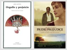 Jane Austen - Orgullo y prejuicio (Book vs Film)