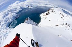 Skiing at the bottom of the world: Antarctica