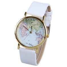 La montre tendance 2017. Superbe montre, unique en son genre. Mouvement à trois aiguilles.  #montrestendance #montresfemme