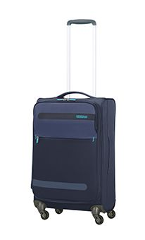 36 L American Tourister Summer Voyager Valise 4 Roues Midnight Blue 55 cm