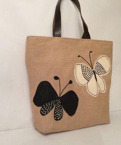 Tote Bag - watercolor butterfly by VIDA VIDA HclFCbM8