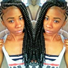Braids ¤ Twist ( Natural Hair & Protective Styles )
