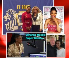Anita Telle and Johanna Mukoki
