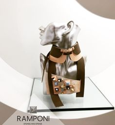 #ramponi #stand #leather #necklace