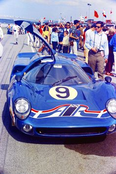 Lola T70 Mk. 3 Chevrolet and was driven to a 7th place finish in the 1969 24 Hours of Daytona by Scooter Patrick and Dave Jordan.