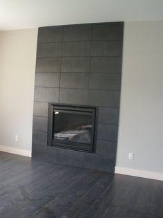 Contemporary LDK Fireplace