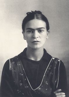 """Frida Kahlo (1907-1954) was a Mexican painter, perhaps best known for her self-portraits. Her work has been celebrated in Mexico as emblematic of national tradition, and by feminists for its uncompromising depiction of the female experience and form. Her work has also been described as """"surrealist"""", and in 1938 André Breton, principal initiator of the surrealist movement, described Kahlo's art as a """"ribbon around a bomb""""."""