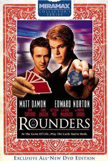 Rounders (Matt Damon, Edward Norton) - 54% - Matt Damon's character is just likeable enough to make this film work. #poker #facebook http://www.cartelpoker.com/freechips/