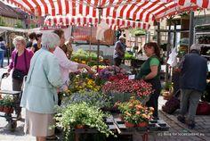 Krammarkt in Bad Rodach, #BadRodach #Franken #Deutschland - Market day in Bad Rodach #BadRodach #Franconia #Germany