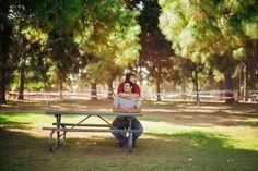 Outdoor engagement shoot