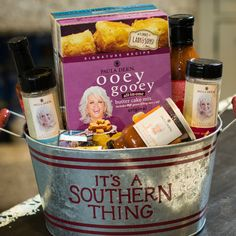 Gift baskets from the Paula Deen Store