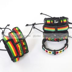 New Men Women Popular Hot Jamaica Reggae Bob Marley Rasta Hiphop Bracelet 1 PC | eBay