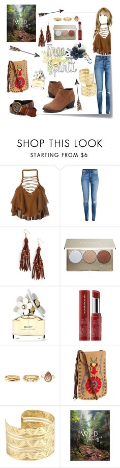 """""""FREE &WILD"""" by dixiemartel ❤ liked on Polyvore featuring Post-It, Balmain, H&M, Panacea, Becca, Marc Jacobs, Bare Escentuals, Charlotte Russe, Lucky Brand and love"""