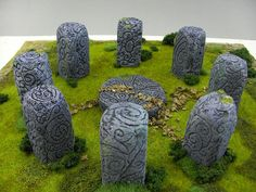 For all us Outlander fans - wouldn't this be fun in a garden?! Stone Circle  by eris_artwork, via Flickr