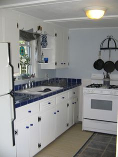 restored 40's kitchen in my first house, a 1905 vic in Lynn MA