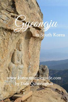 Chilbulam Hermitage on Mt. Namsan in Gyeongju Gyeongju, Buddhist Art, Buddhism, South Korea, Wonders Of The World, Temple, Korean, Adventure, Writing
