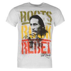 Official | Official Bob Marley T Shirt Mens | Mens T Shirts