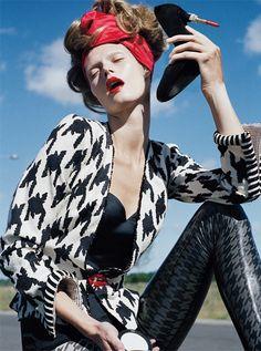 Malgosia Bela by Tim Walker for Vogue Italy September 2010