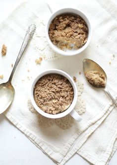 21. 1-Minute Coffee Cake in a Mug #healthy #recipes…