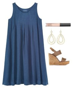 """""""Church"""" by helenhudson1 ❤ liked on Polyvore featuring Toast, Kendra Scott, Tory Burch and NARS Cosmetics"""