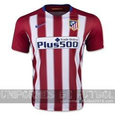 200edd0cba0 Venta de Jersey local para uniforme del Tailandia Atletico de Madrid  2015-16 Cheap Football