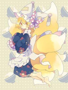 Touhou Anime, Manga Anime, Kawaii Girl, Kawaii Anime, Pretty Art, Cute Art, Character Concept, Character Design, Anime Illustration