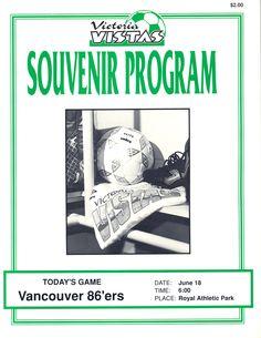 Victoria Vistas vs Vancouver 86ers, 1989 Vancouver, Date, Victoria, Soccer League, Memories, Souvenirs, Remember This