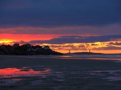 Gloucester At Dawn Good Harbor Beach and Thatcher Island 4:50AM 6/11/10 by captjoe06, via Flickr