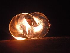 I love spinning fire...I'd be quite the happy camper if I learned that pattern! #BellyDancingPhotoshoot