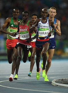 Mo Farah, Rio Brazil, 2016 Pictures, Rio 2016, Summer Olympics, Track And Field, Princesas Disney, Female Athletes, Great Britain