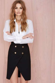 Nasty Gal Work It Pencil Skirt | Shop Clothes at Nasty Gal