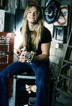 Zakk Wylde- Not a big fan, but man he used to look cool!
