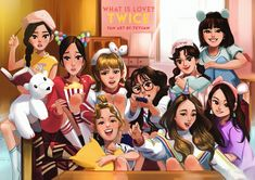 We know ONCEs are a talented bunch, so we wanted to highlight a few pieces of fan art that we were insanely impressed with. Nayeon, Kpop Girl Groups, Korean Girl Groups, Kpop Girls, Twice Fanart, Kpop Drawings, Pencil Drawings, Twice Jihyo, Twice Kpop