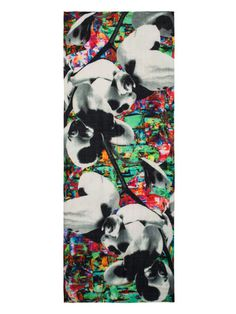 TDynasty Boston Terrier French Bulldog Warm Shawls Scarves Printing Fashion Scarf Shawl Winter Scarf Warm Soft Multi-Purpose for Adult Women Gifts
