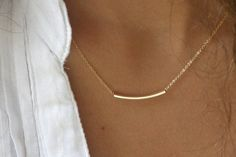 Behold the simple everyday necklace that I've had on my wishlist for forever! How great is it by itself or layered?!