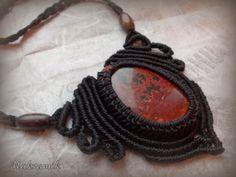 http://polandhandmade.pl/ #polandhandmade, #makrama, #makramik, #necklace, #micro-macrame, #naszyjnik