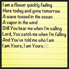 A favorite Casting Crowns song. Christian Music Lyrics, Christian Music Artists, Christian Songs, Christian Quotes, I Love Music, Love Songs, Good Music, Sing To The Lord, Sing To Me
