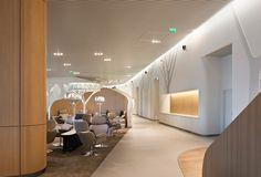 SALÃO BUSINESS LOUNGE – ROISSY Aeroporto do Paris / Charles de Gaulle