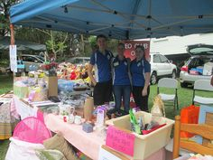 Samford Leo Club, Australia - Leos held a bric a brac stall to raise funds for medical equipment for a disabled teen
