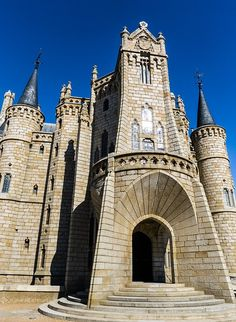 Gaudí, Astorga, Castle, Palace Spain