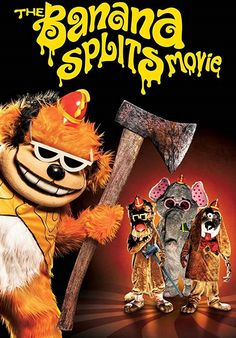 Nédz Mozi ~ The Banana Splits Movie Online 2019 Teljes Filmek Videa HD (Film Magyarul) # Split Horror Movie, Split Movie, Horror Movies, The Banana Splits, One Banana, Movies To Watch, Good Movies, New Clip, Streaming Vf