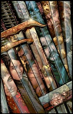 Game-of-Thrones Color Print by rantz.deviantart.com on @DeviantArt