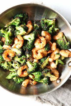 Mongolian Shrimp & Broccoli  - Delish.com