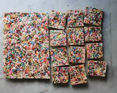 No-Bake Cookie Bar Recipe! Just a few ingredients and you've got a party in a bar — no oven or birthday required!