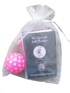 Check out our BOG Golf Gals Gift Combos - (Hot Pink) Visor Clip & Ball Marker, Golf Ball & Smiley Tees! Find the best golf gear and accessories at Lori's Golf Shoppe. Click through now to see this!