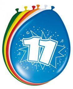 Ballonger - 30cm - 11 år #Bursdagsballonger Unicorn Balloon, Number Balloons, Balloon Arch, Balloon Garland, Lego Ninjago, Happy Birthday Balloons, 75th Birthday, Colourful Balloons, Birthday